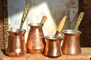 красивые турки для кофе