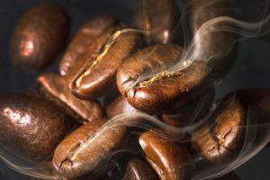 обжаренное кофеное зерно