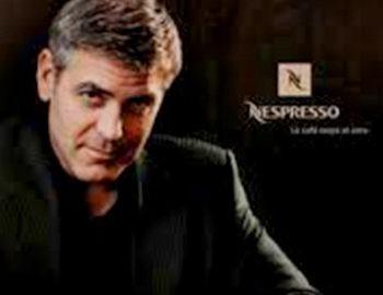 Джордж Клуни и Nespresso